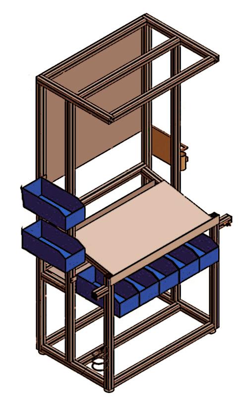 Soluci n de almacenaje industrial indaxgal - Mesas de taller ...